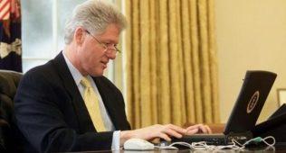 Билл клинтоннинг ноутбуки 60,6 минг долларга сотилди