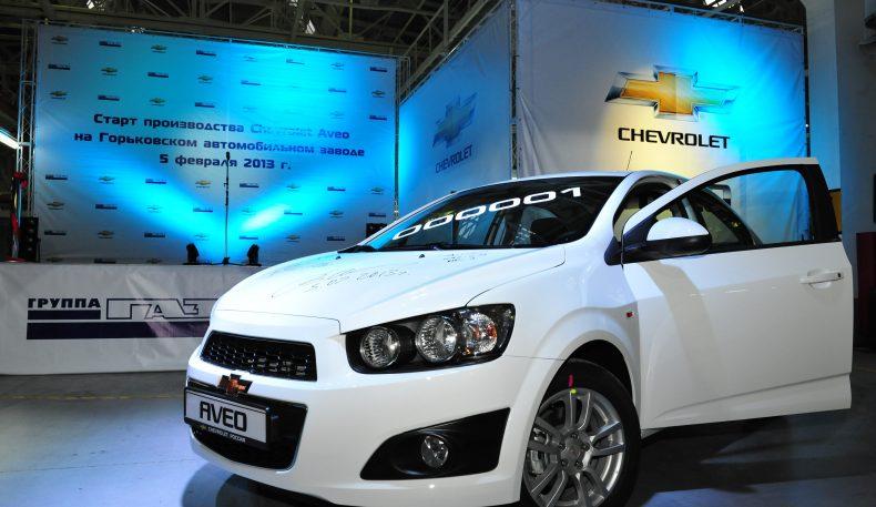 GM Uzbekistan йилига 70000 Chevrolet Aveo режаламоқда
