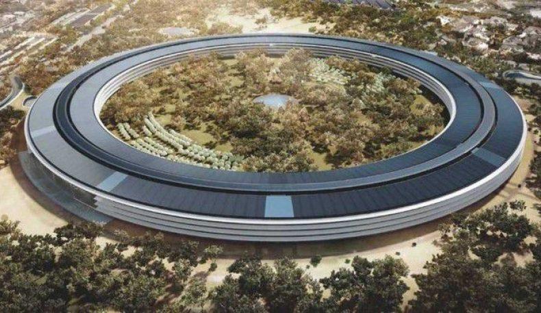 """""""Apple""""нинг 2-марказий офиси қурилмоқда"""