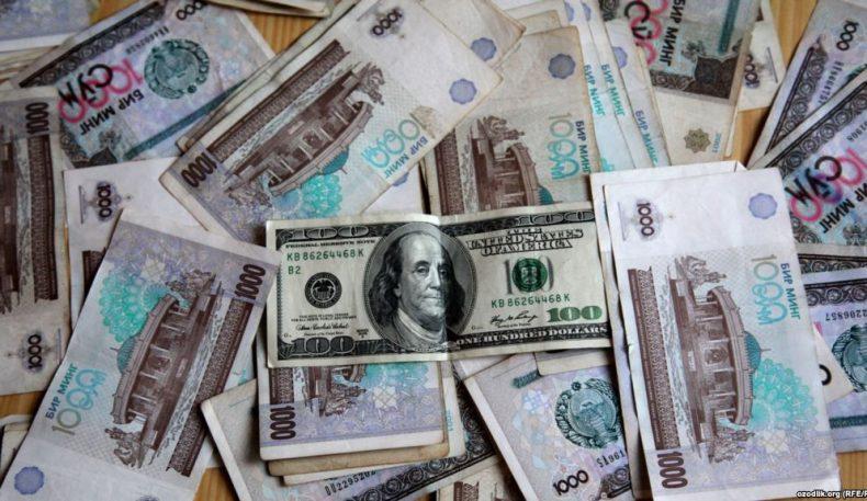 """Ўзбекистон """"қора бозори""""да доллар 8200 сўмдан ошди"""