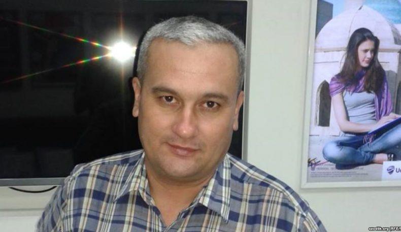 Журналист Бобомурод Абдуллаевнинг уйида тинтув ўтказилди, унинг ўзи қўлга олинган
