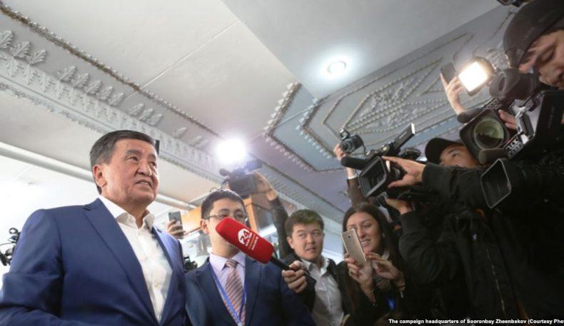 Қирғизистон МСК: Президент сайловларида Атамбоевнинг иттифоқчиси 54 фоиз овоз тўплади