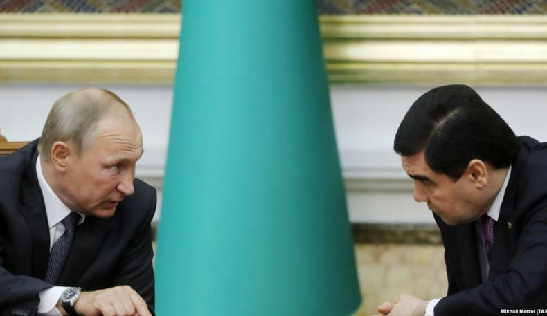 Путин ва Бердимуҳамедов «стратегик ҳамкорлик» тўғрисидаги шартномани имзолашди