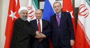 Россия, туркия ва эрон сурия бўйича келишув имзолади (видео)
