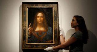 Леонардо да винчи картинаси 450 миллион долларга сотилди
