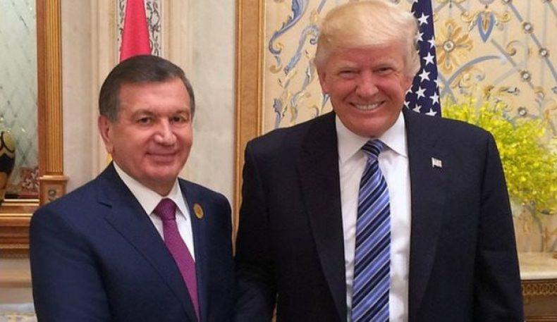 Дональд Трамп Мирзиёевни Америкага таклиф қилди