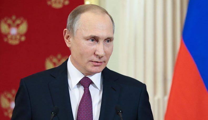 Путин ўзининг президентлик сайловларида иштирок этишини эълон қилди (видео)