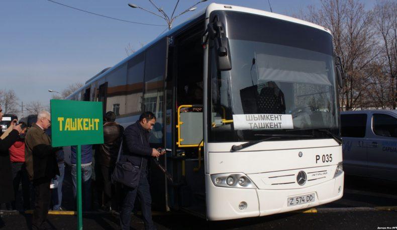 """Қирғизистон ва Ўзбекистон """"Тошкент-Бишкек"""" автобус маршрутини йўлга қўймоқда"""