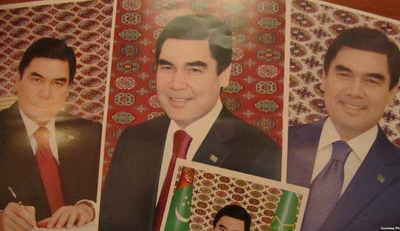 Давлат муассасаларида Туркманистон президентининг портретини оммавий равишда алмаштиришмоқда