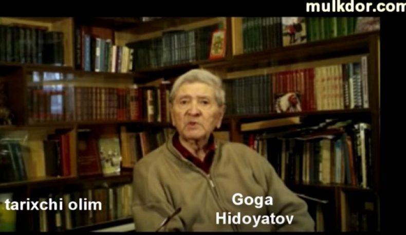 Буюк тарихчи олим Гога Хидоятовдан Турон тарихи (II қисм)