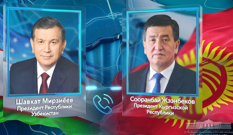 Шавкат Мирзиёев Қирғизистон Президенти билан телефон орқали мулоқот қилди
