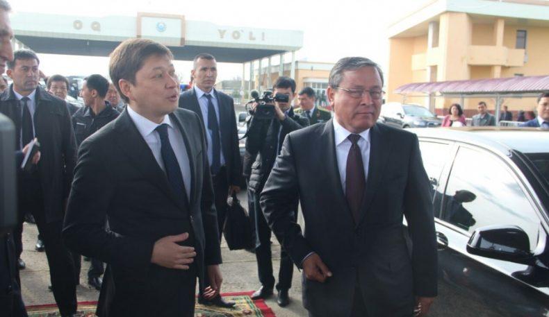 Қирғизистон премьер министри Фарғонага борди