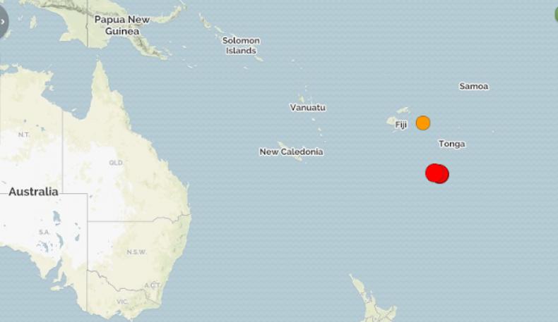 Фиджи қирғоқларида 8,2 балли зилзила содир бўлди