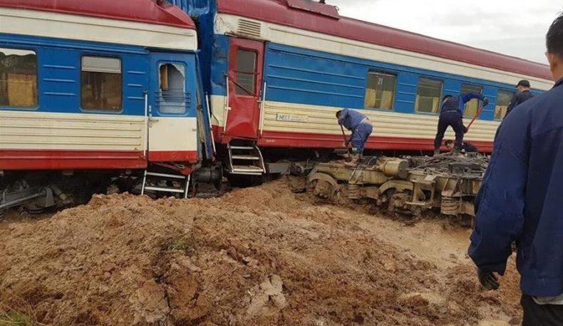 Кеча Мўғулистонда Улан-Батордан Сайншанд шаҳрига кетаётган поезд ҳалокатга учради. Жабрланганлар 50 кишидан ошди…