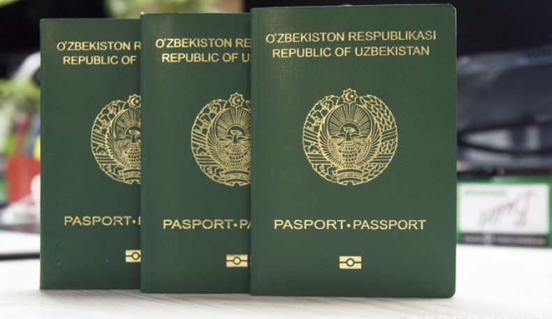 ID-карталар паспорт ўрнини эгалламайди