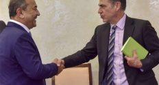 Ўзбекистон сенатори Содиқ Сафоев АҚШ мулозими билан савдо-сотиқ масалаларини муҳокама қилди
