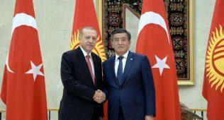 Эрдоғанқирғизистон билан алоқаларни яхшилашга чорлади