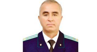 Салом самадов, шавкат раҳматовўрнига тошкент вилояти бош прокурори лавозимини эгаллади