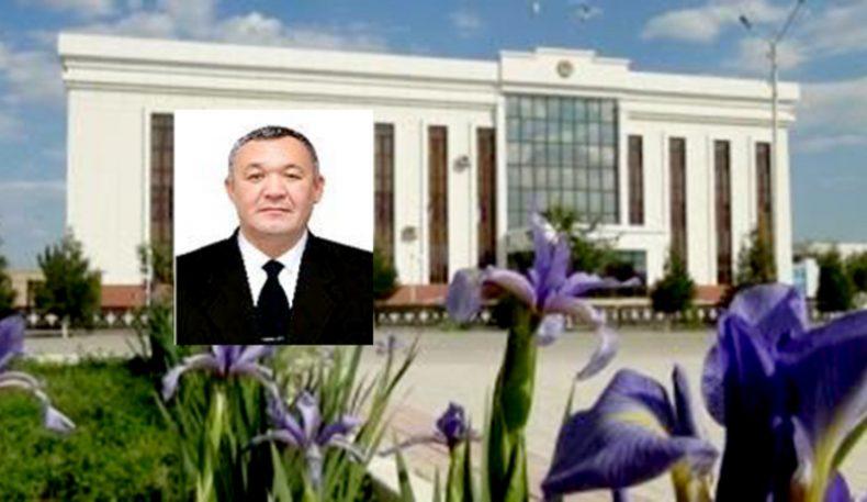 Бердах Сапаров Қўнғирот тумани ҳокими бўлди