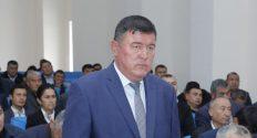 Усмон Туропов Ангор тумани ҳокими бўлди