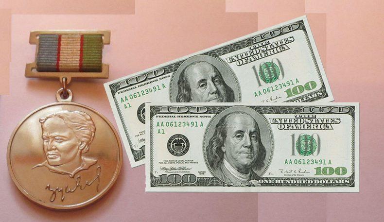 Термизда Зулфия мукофоти учун 200 доллар пора олаётган яна бир коррупционер аёл қўлга олинди