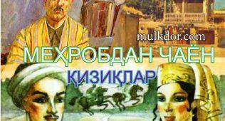 Мeҳробдан чаён-қизиқлар