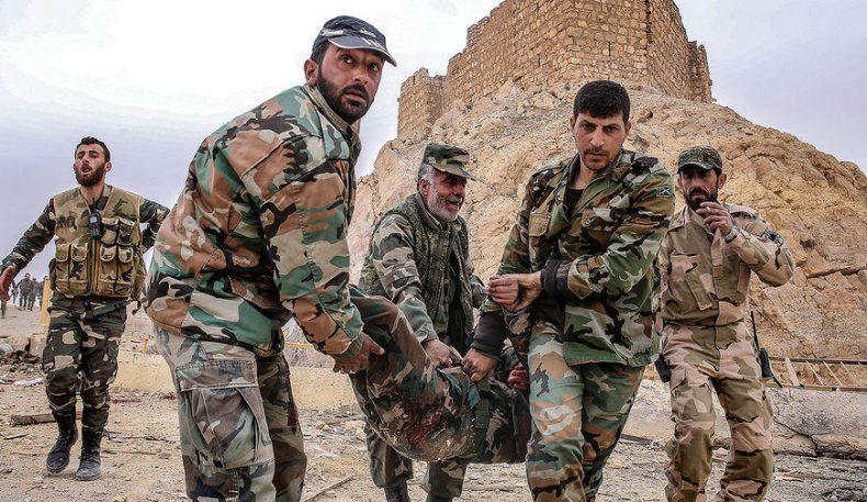 Исёнчилар Сурия армиясига ҳужум қилиши натижасида камида 25 нафар аскар ҳалок бўлди