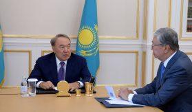 Нурсултон Назарбоев президентлик ваколатини топширганини эълон қилди