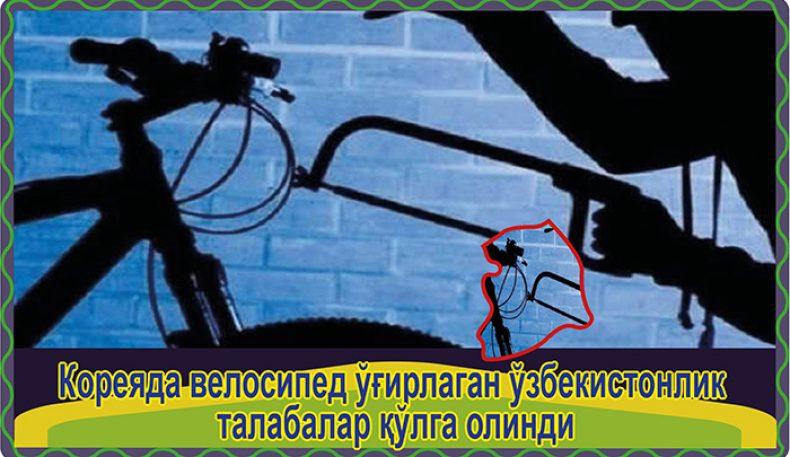 Кореяда велосипед ўғирлаган ўзбекистонлик талабалар қўлга олинди