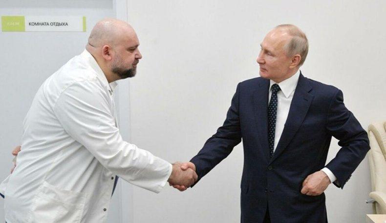 Путин билан кўришган шифокор коронавирусдан тузалди